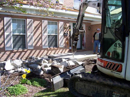 cincinnati concrete porch removal