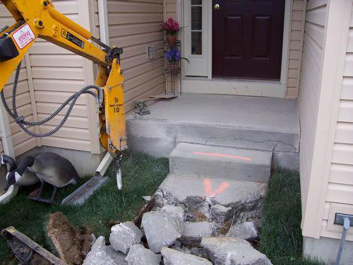 cincinnati concrete step removal and repair