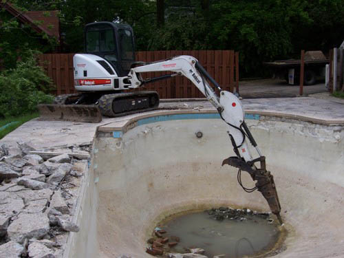 cincinnati pool removal and demolition
